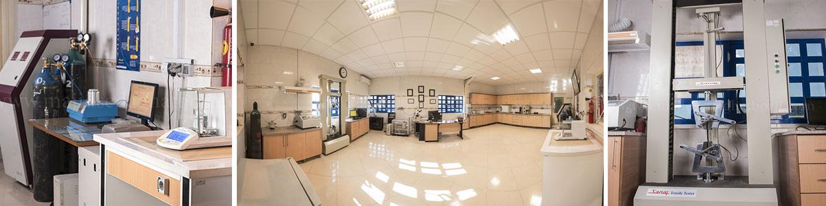 آزمایشگاه اکرودیته شرکت مهرآوند مشهد